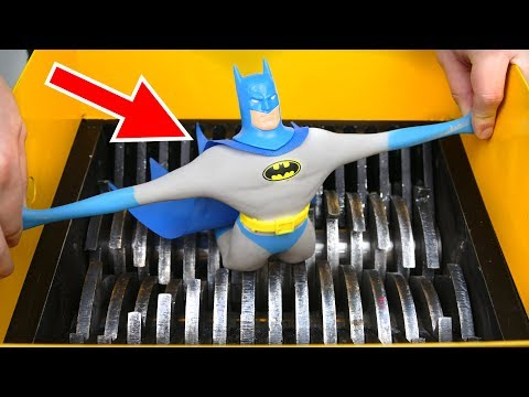 SHREDDING STRETCH BATMAN