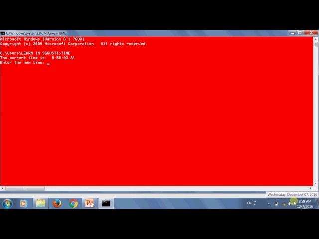 Learn MS DOS Part  2 Time, Date Clean, Version, Vol  in Hindi (हिंदी)