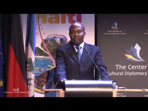 Patrick Saint Hilaire (Chargé d'Affaires, Embassy of Haiti t