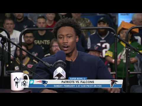 New York Jets WR Brandon Marshall Gives His Super Bowl Prediction - 2/3/17