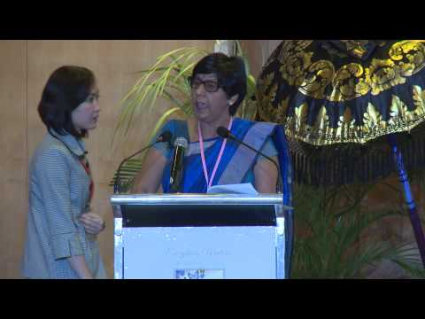 The Honorable Mrs. Leela Devi Dookun-Luchoomun Minister of Education and Human Resources, Mauritius