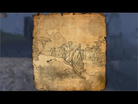 Stonefalls Treasure Map II Location Elder Scrolls Online