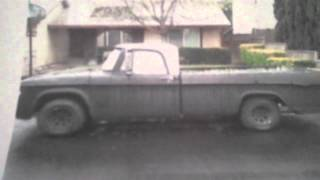 Mike's 1965 Dodge D100 Video #1