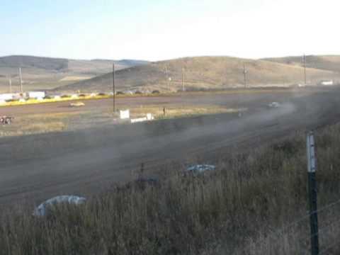Hayden Speedway Mini Stock Heat #1 9-13-14