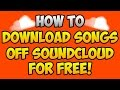 Download Music From SoundCloud For Free | 100% Working Tutorial