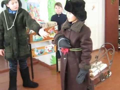 Изображение предпросмотра прочтения – «Учащиеся 3 класса Карачельской средней школы» читает произведение «Крестьянские дети» Н.А.Некрасова