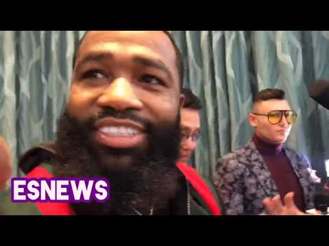 Adrien Broner Reveals Why Manny Pacquiao Laughed At Faceoff - esnews boxing