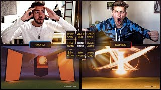 FIFA 18: SCREAM PACK OPENING BATTLE 🤑😍🔥 FifaGaming vs Wakez Ultimate Team
