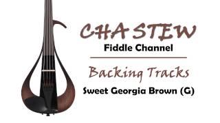Sweet Georgia Brown in G :: Gypsy Jazz & Blues Violin Backing Tracks