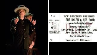 Bob Dylan - I Feel a Change Comin' On (Tulsa 2009)