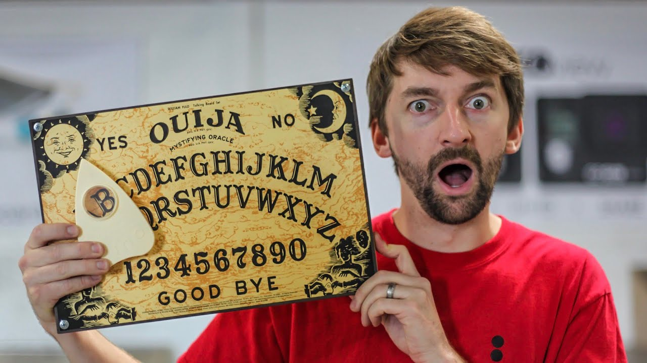 Terrifying Ouija (Skate)Board