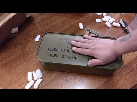 UNBOXING 7.62x39 RUSSIAN