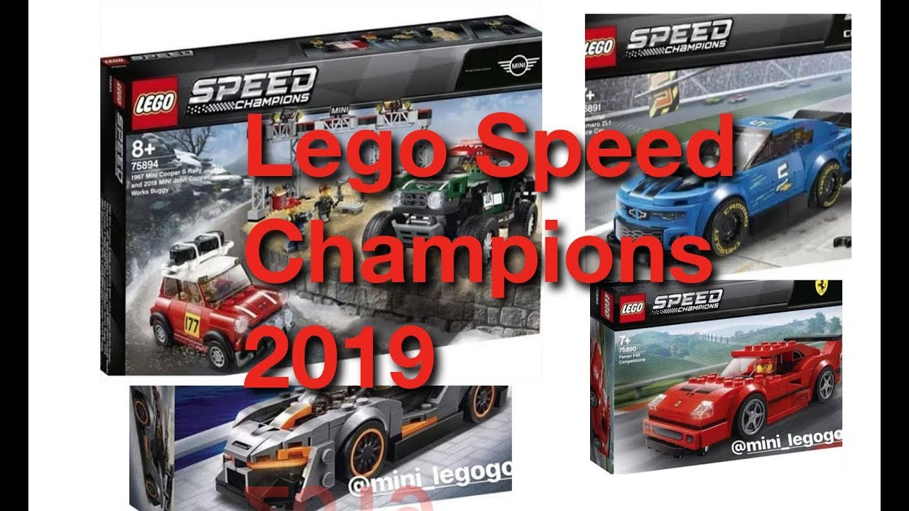 new 2019 lego speed champions sets more youtube. Black Bedroom Furniture Sets. Home Design Ideas