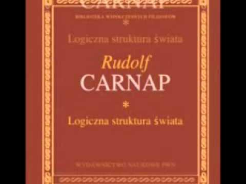 """Rudolf Carnap, """"Logiczna struktura świata"""". Nota o książce. Autor: Paweł Kawalec"""