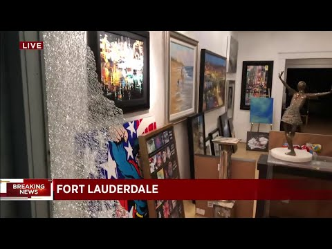 Four Businesses On Las Olas Boulevard Vandalized After Protests