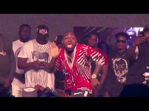 VIDEO: Davido Performs 'Dami Duro' 'Dodo' & 'The Money' at Soundcity Urban Blast Festival 2015