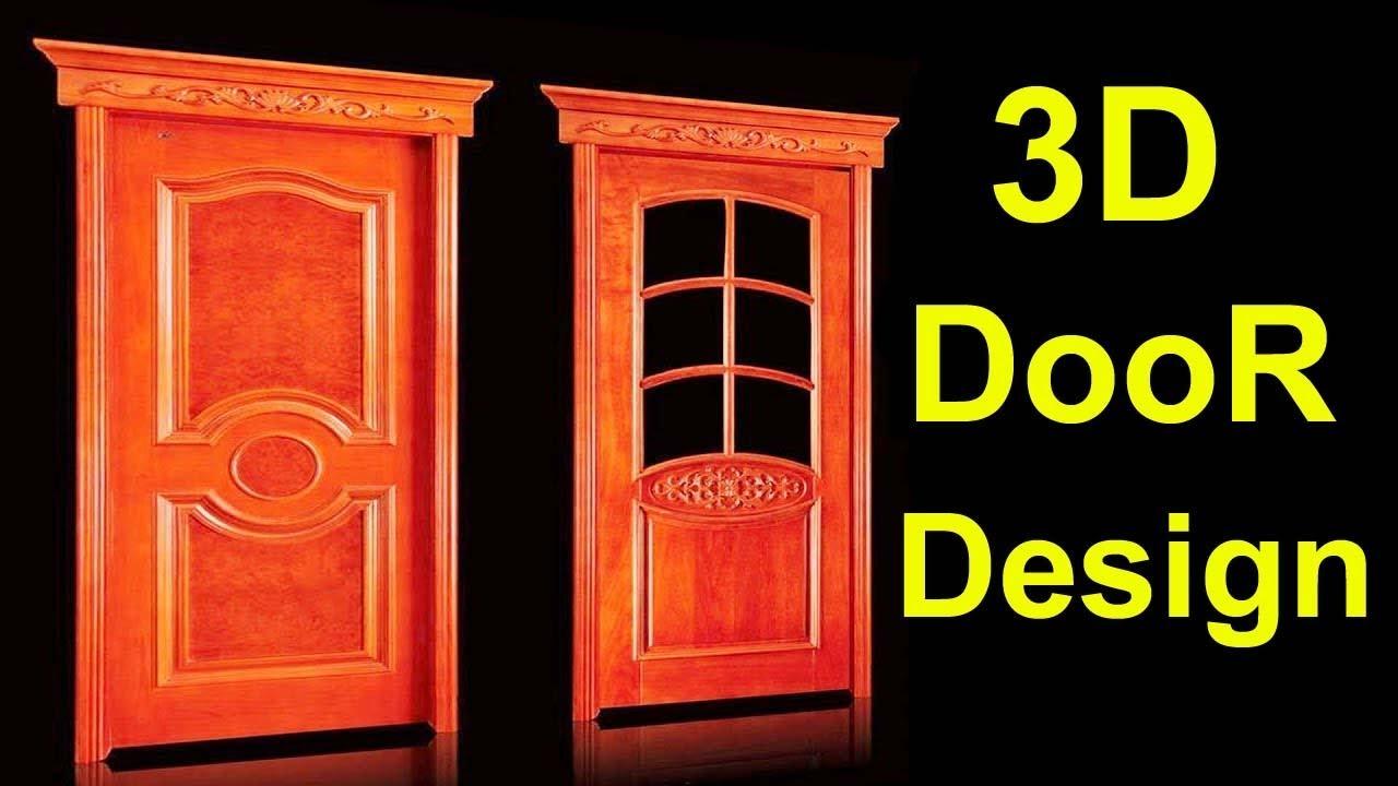 Autocad 3D door/ how to convert 2d to 3D complete door. Urdu/ Hindi  sc 1 st  YouTube & Autocad 3D door/ how to convert 2d to 3D complete door. Urdu/ Hindi ...