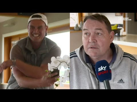 Ex All Blacks Coach Steve Hansen Roasted In Hilariously Awkward Interview | RugbyPass