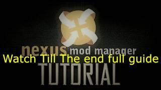 (Easy)How To Install Nexus Mod Manager And SKSE To Mod Skyrim Full guide