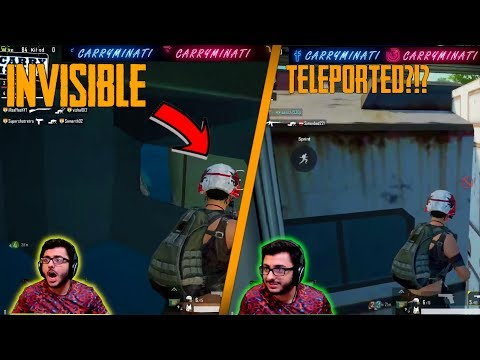 HOW TO BECOME INVISIBLE IN PUBG | WILDEST GLITCH CARRYMINATI HIGHLIGHTS