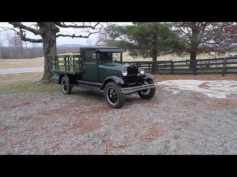 1928 Ford Model A AA AR Truck For Sale