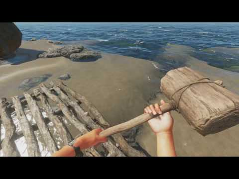Stranded Deep: Beach front property (build 22 part 6)