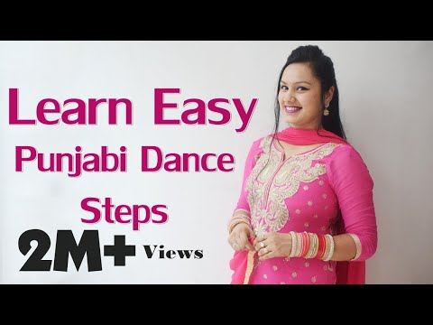 8 Easy Punjabi Dance Steps to Perform on Every Song | Surbhi Kaur