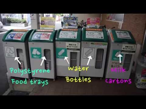 How We Recycle In Japan