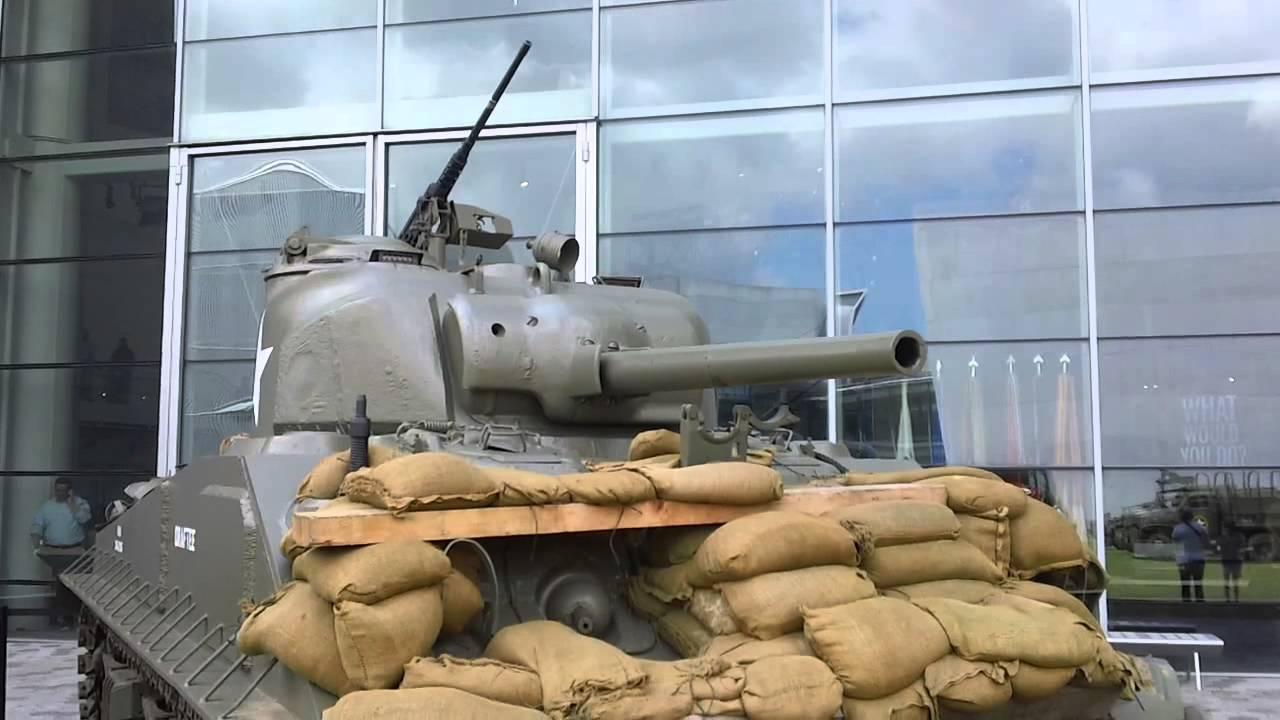 M Sherman Tank National World War II Museum New Orleans Louisiana - Gun museums in usa