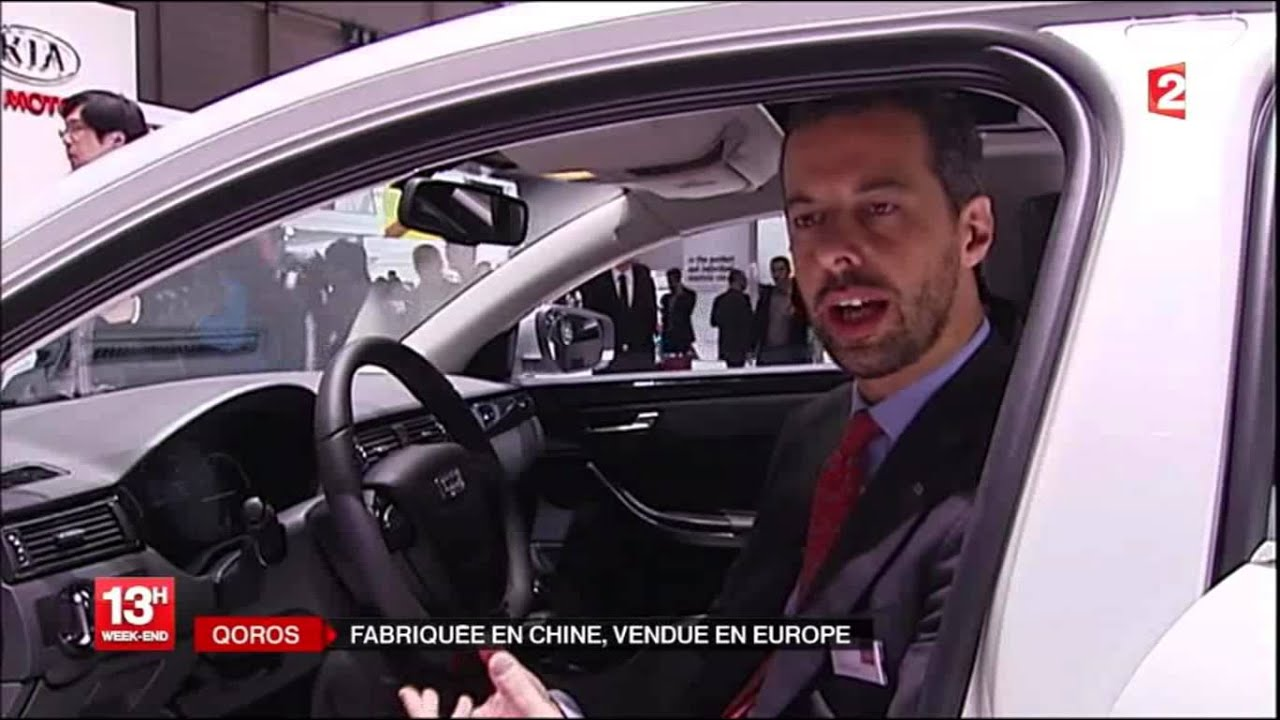 infos de france 2 13h le 10 03 13 qoros salon de gen ve voiture chinoise youtube. Black Bedroom Furniture Sets. Home Design Ideas