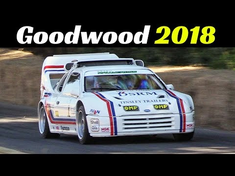 2018 Goodwood Festival of Speed - Day 3...