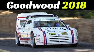 2018 Goodwood Festival of Speed - Day 3 Highlights - Supercars Madness, F1, Rally cars, Drift & More