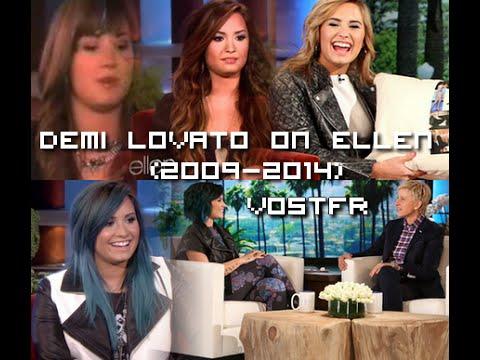 [VOSTFR] Demi Lovato on Ellen. (2008-2014)