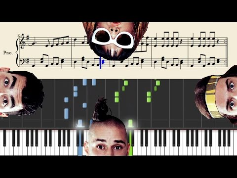 DNCE - Cake By The Ocean - Piano Tutorial + Sheets