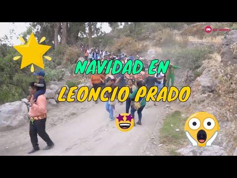 Negritos De Zapateo De Leoncio Prado - Lucanas, Utec - Puquio ► Navidad En Leoncio Prado 2019