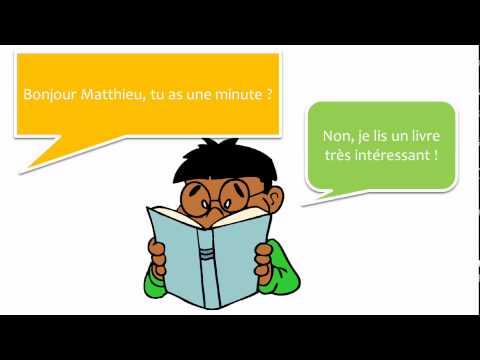 Belajar bahasa Perancis dengan dialog # 20 dialogues