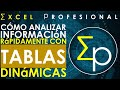 Tablas dinamicas en excel | Curso intensivo | 40 minutos.