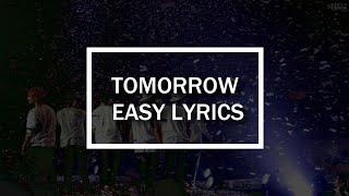 Download TOMORROW - BTS (방탄소년단) EASY LYRICS Mp3