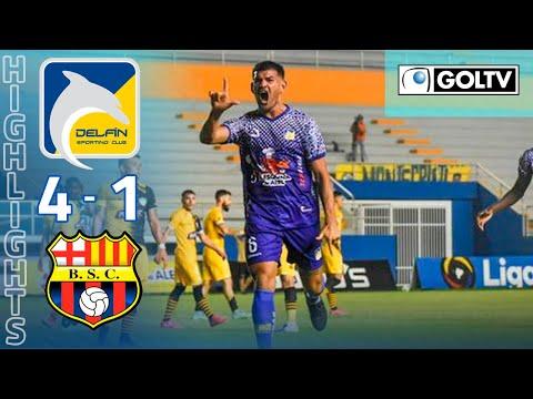 Delfin Barcelona SC Goals And Highlights