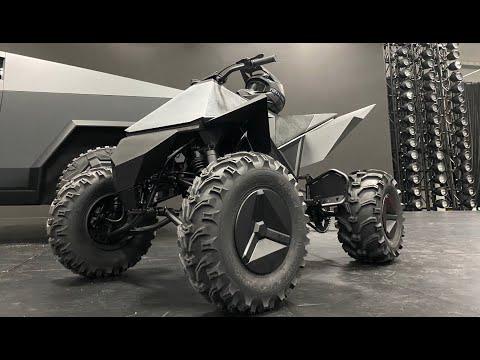 Tesla's Bladerunner CyberQuad ATV