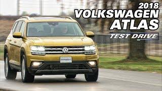 Test Drive: The 2018 Volkswagen Atlas