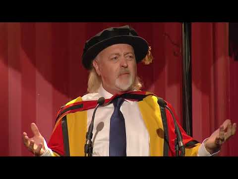 Comedian and musician Bill Bailey receives an Honorary Degree from the University of Bath