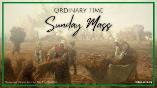 6/13/21 - Sunday | 9:30AM Mass | 11TH week of Ordinary Time | Fr. Michael Hurley, O.P.