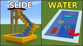 Minecraft: 15+ Summer Buİld Hacks!