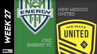 OKC Energy FC vs. New Mexico United: September 8th, 2019