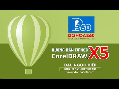 Bài 1: Cơ bản về phần mềm CorelDRAW X5