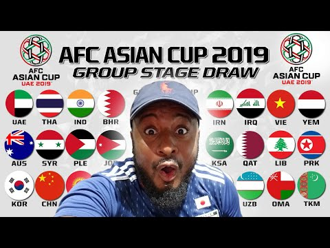 2019 AFC Asian Cup Draw Reaction | My Early Predictions