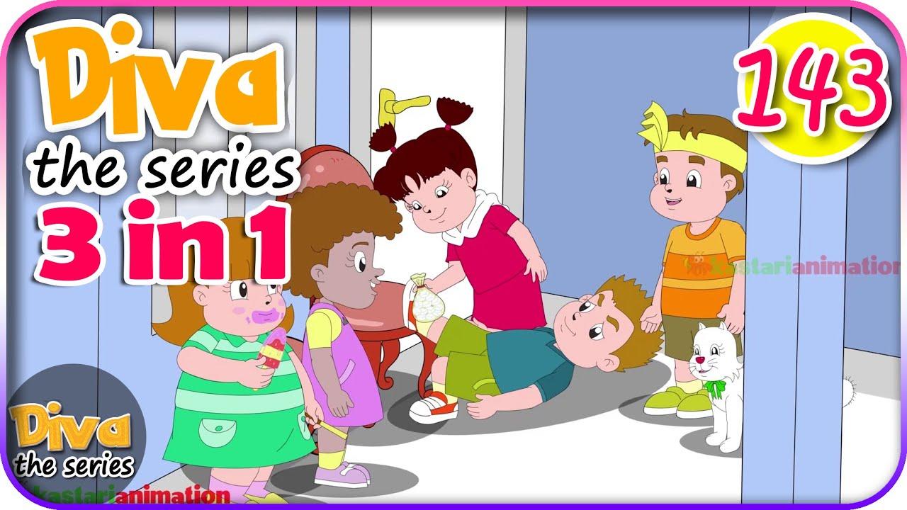 Seri Diva 3 in 1 | Kompilasi 3 Episode ~ Bagian 143 | Diva The Series Official