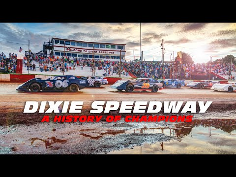 """Dixie Speedway  """"A History of Champions"""""""