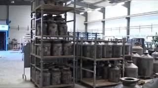Visite des usines d'ACF FRANCE - Fabricant français de matériel de sablage